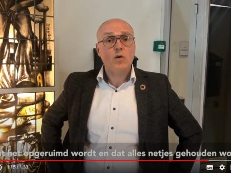 video van Charles Claessens op YouTube